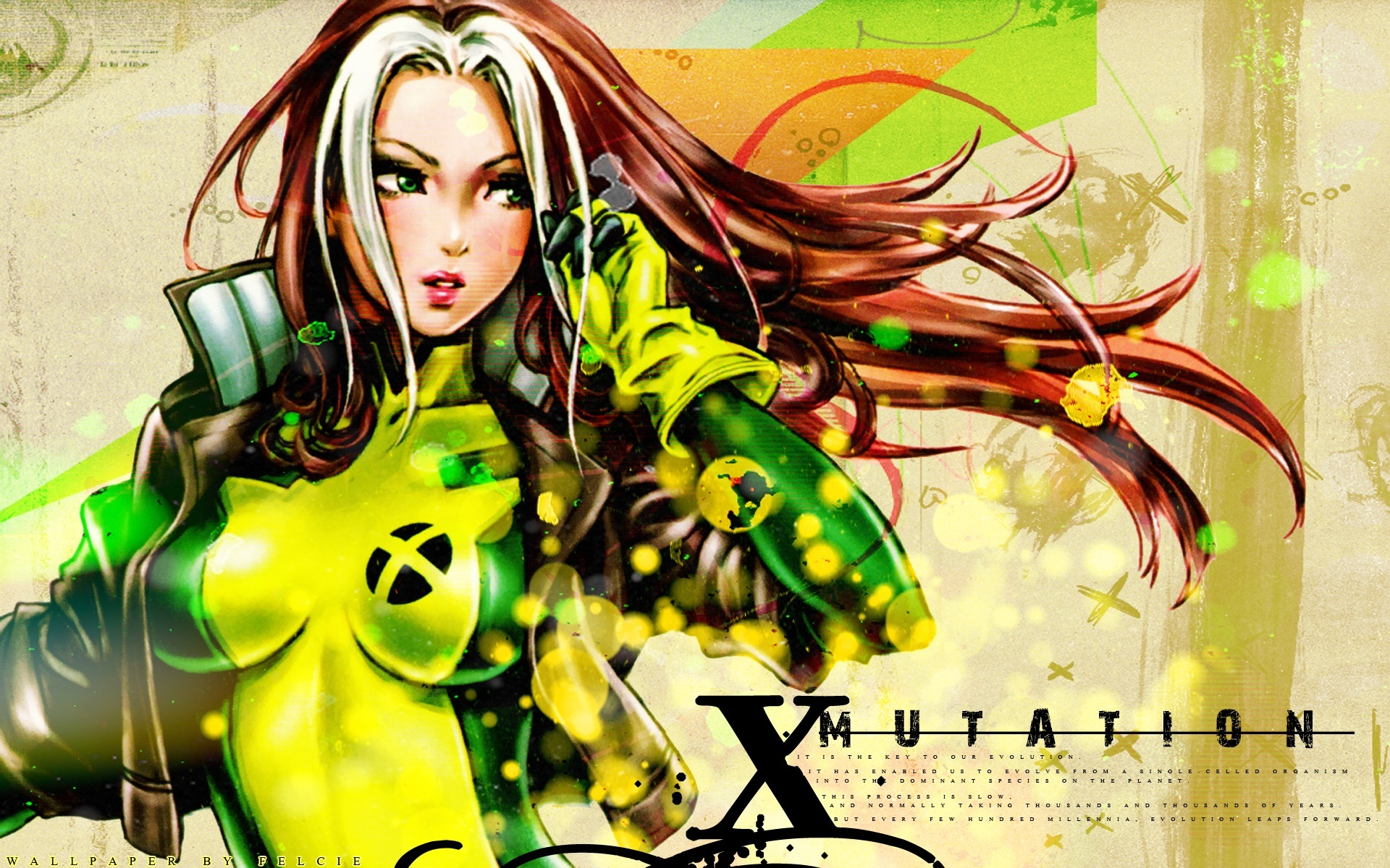 X-Men Rogue HD Wallpaper