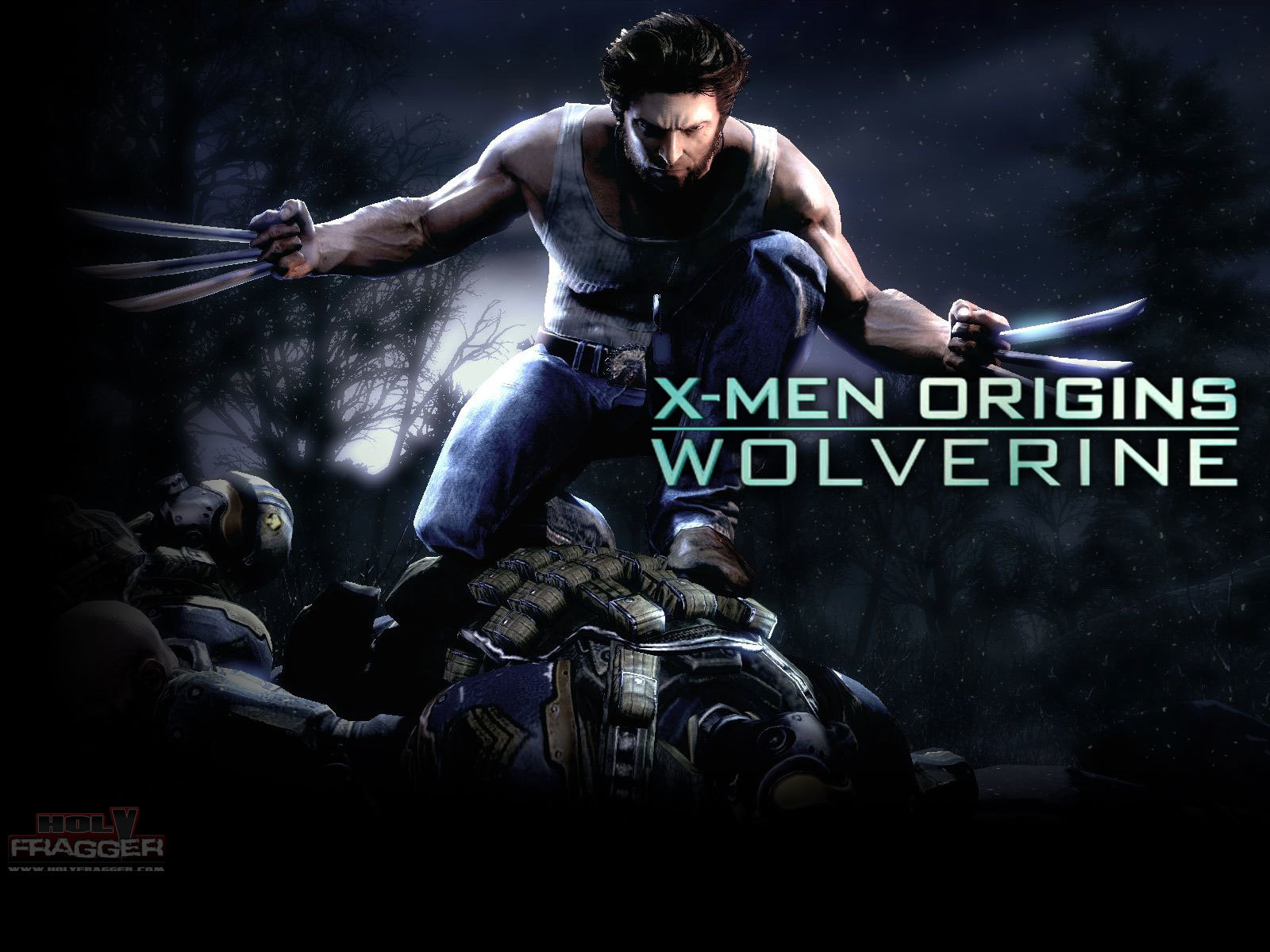 X-Men wolverine xmen origins HD Wallpaper