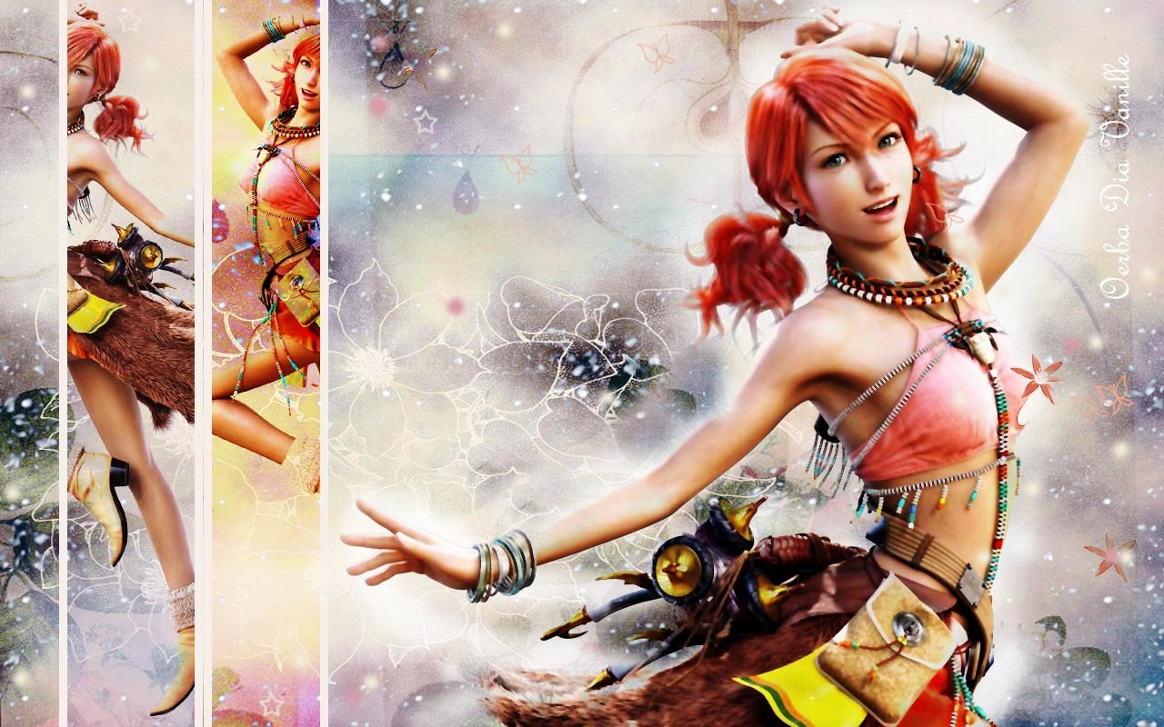 XIII Oerba Dia vanille HD Wallpaper