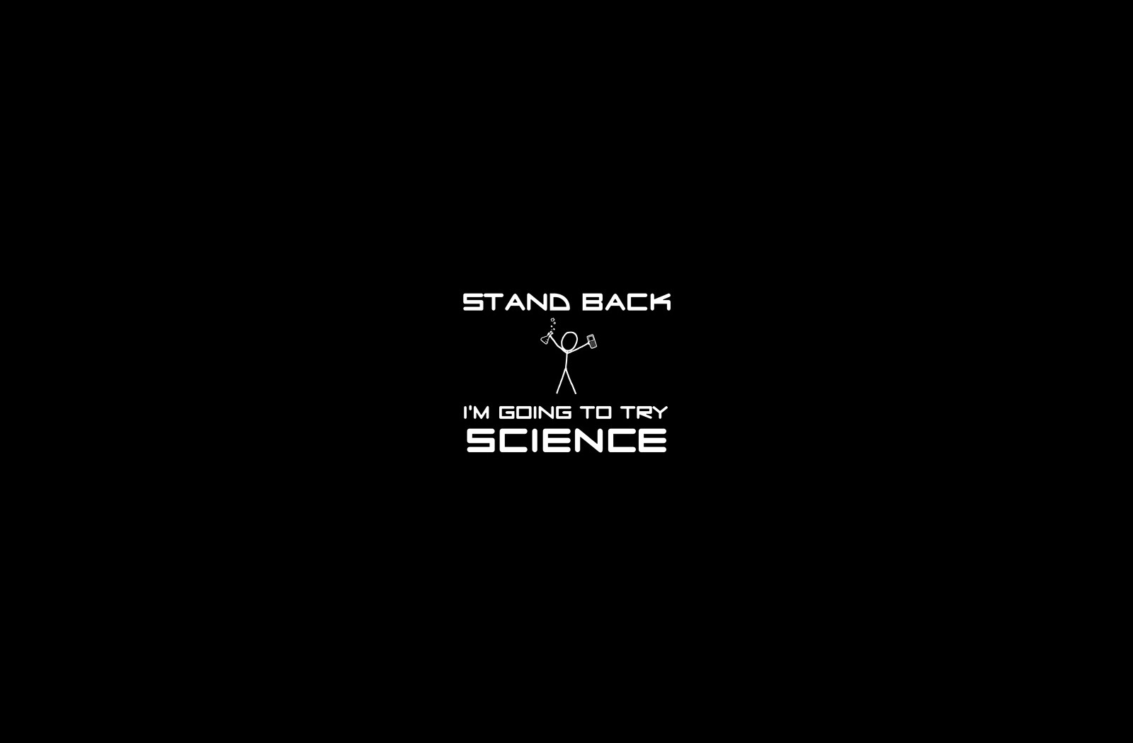 xkcd Science HD Wallpaper