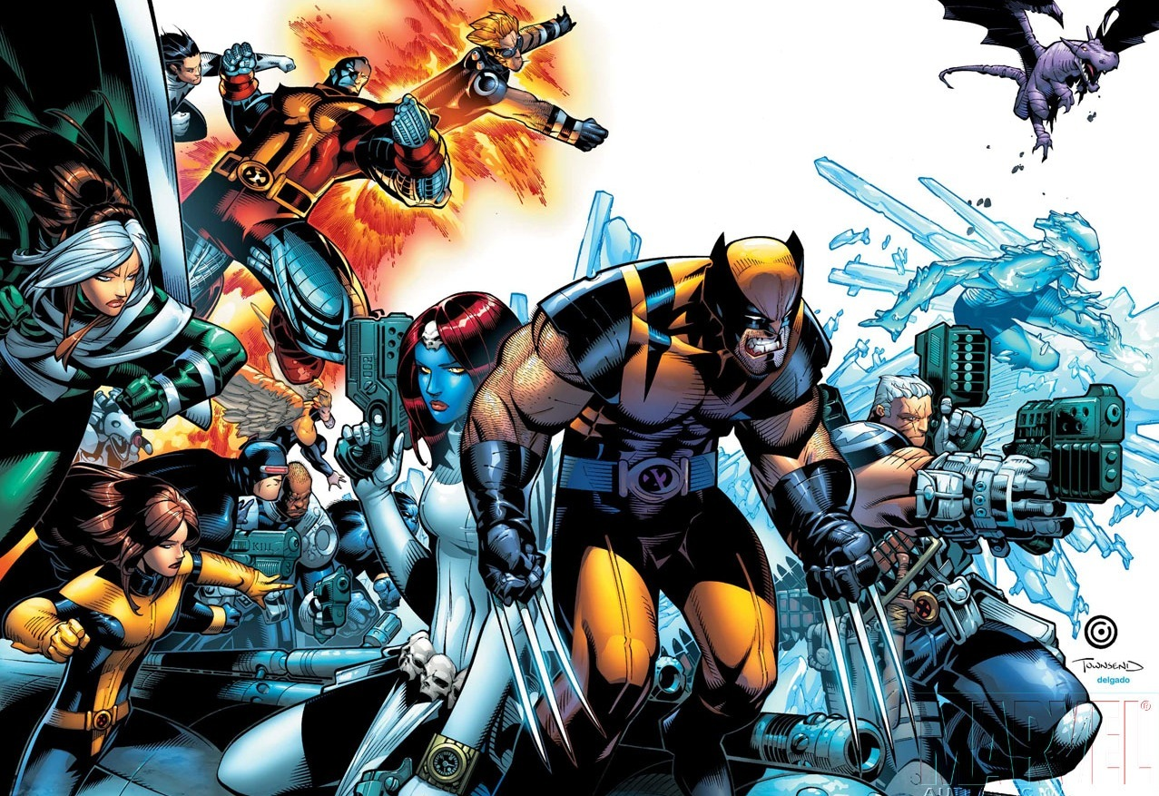 xmen X-Men Legends cartoon HD Wallpaper
