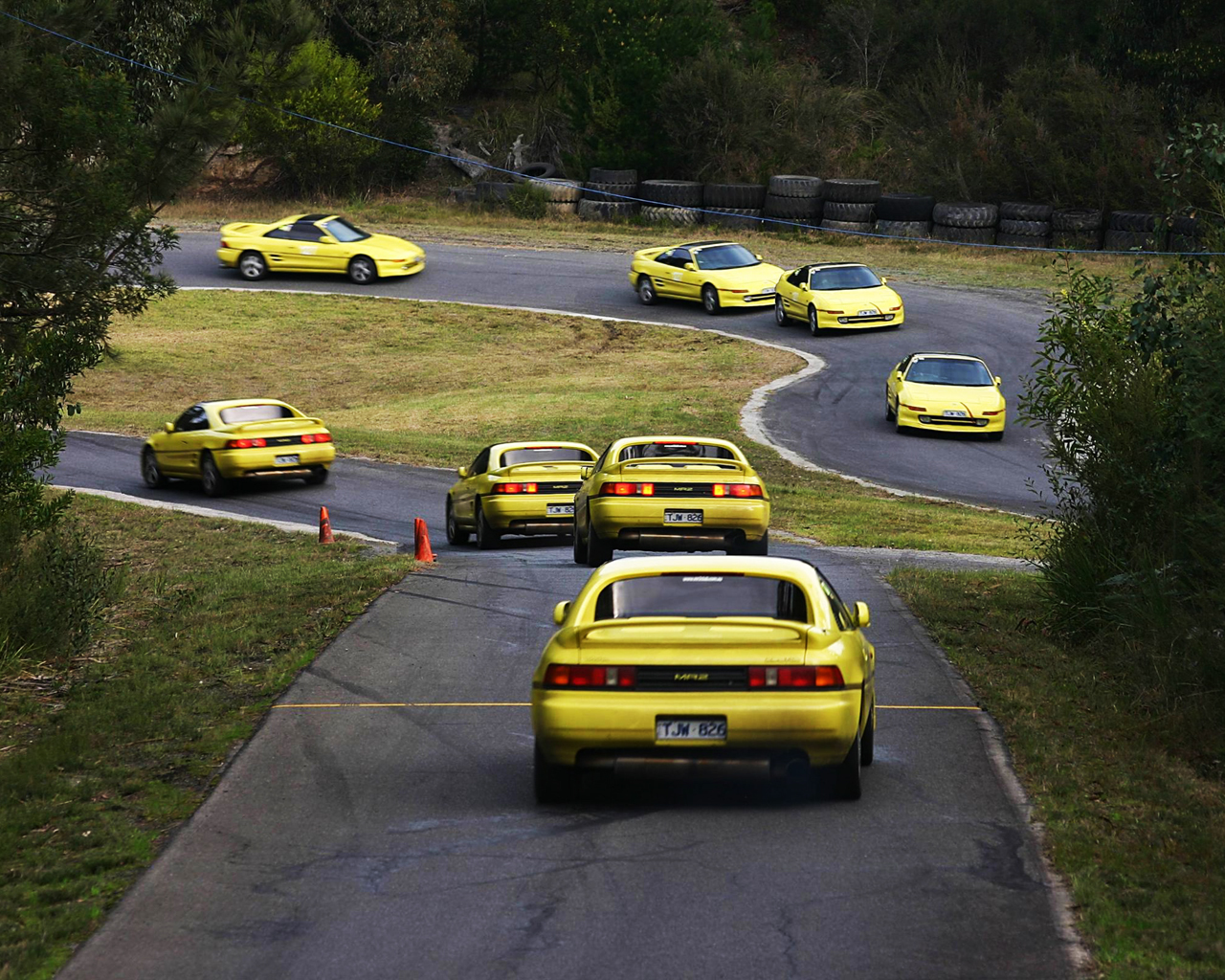 yellow cars Car