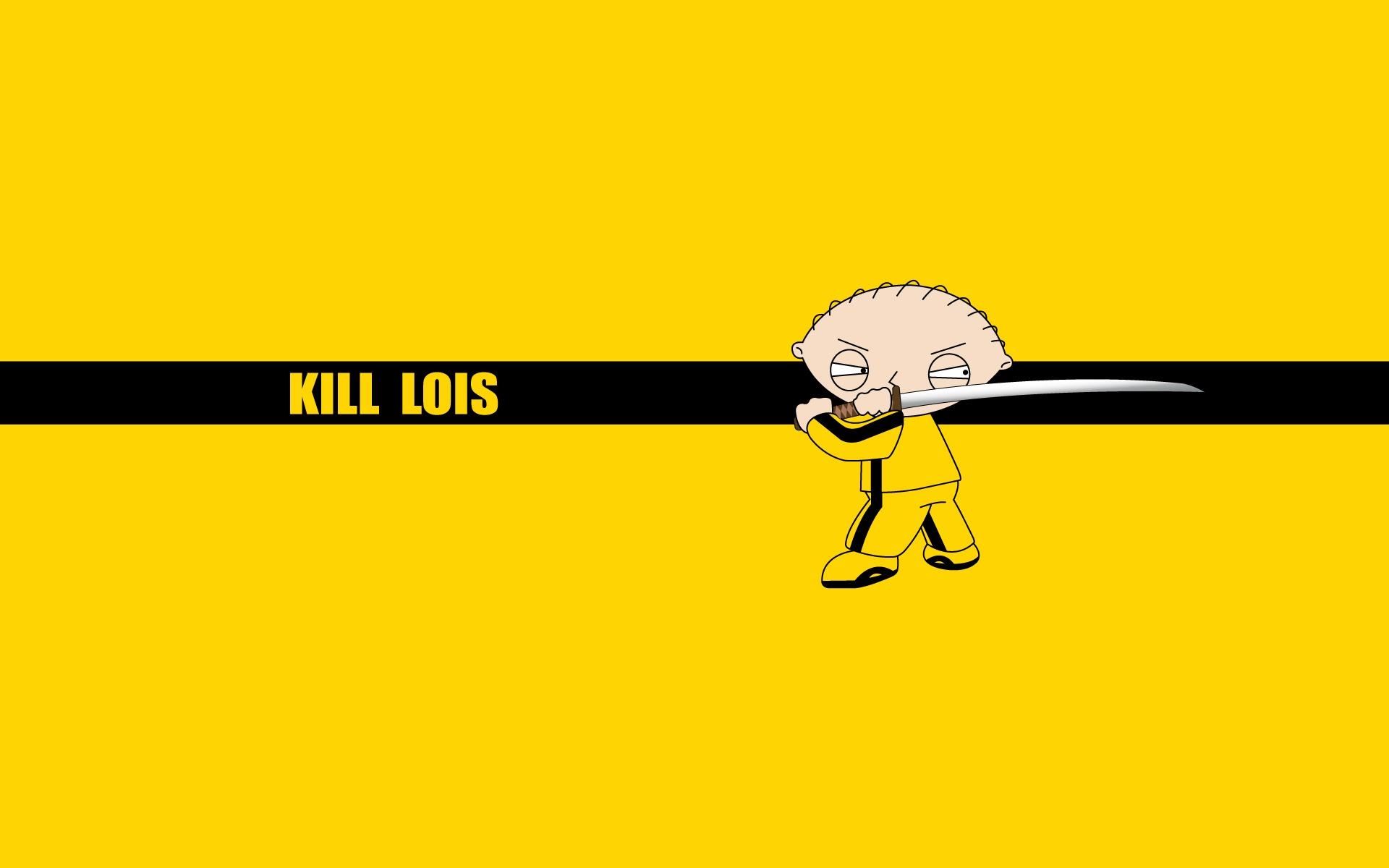 yellow Family Guy Kill HD Wallpaper