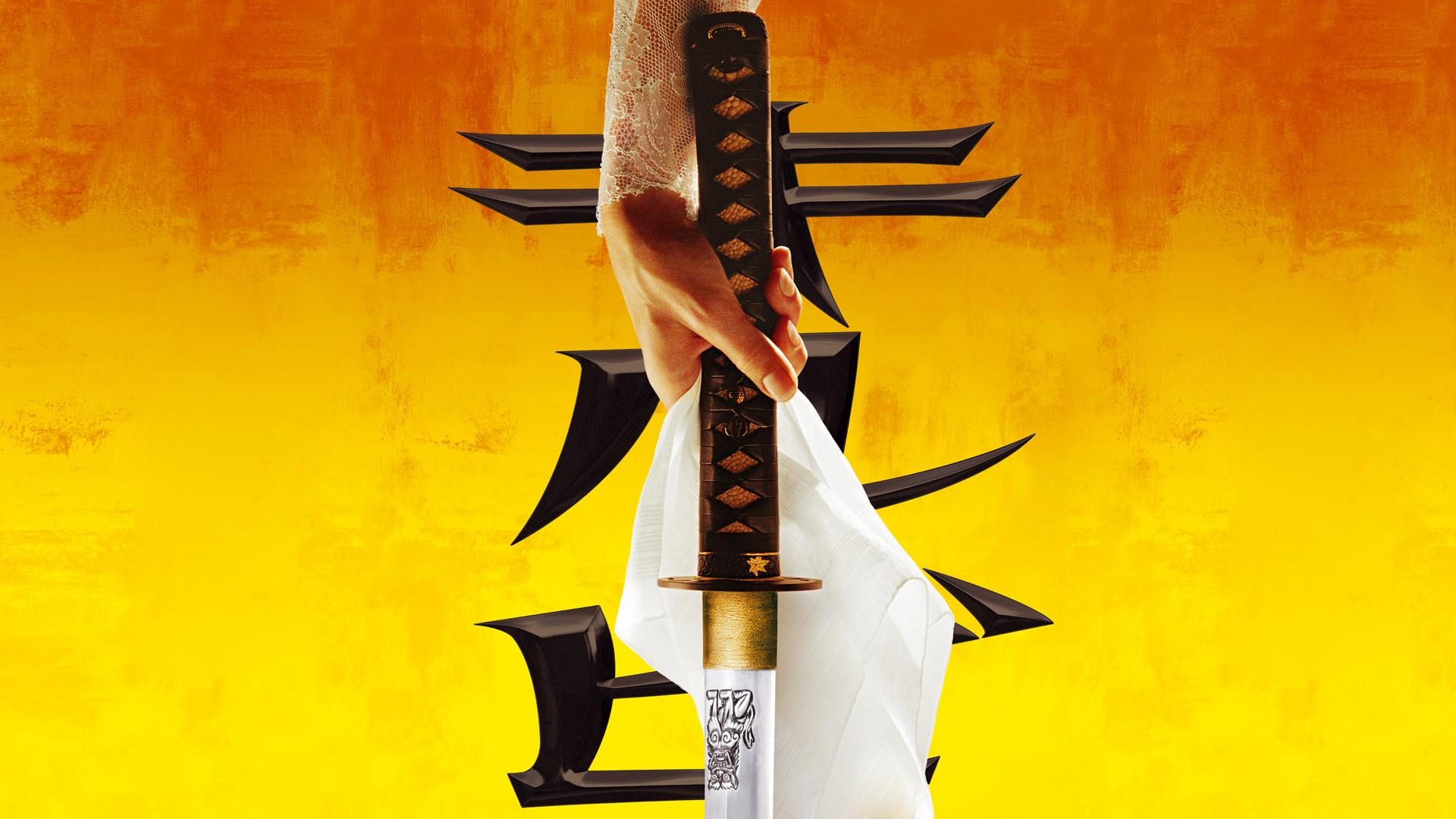 yellow Katana Kill Bill HD Wallpaper