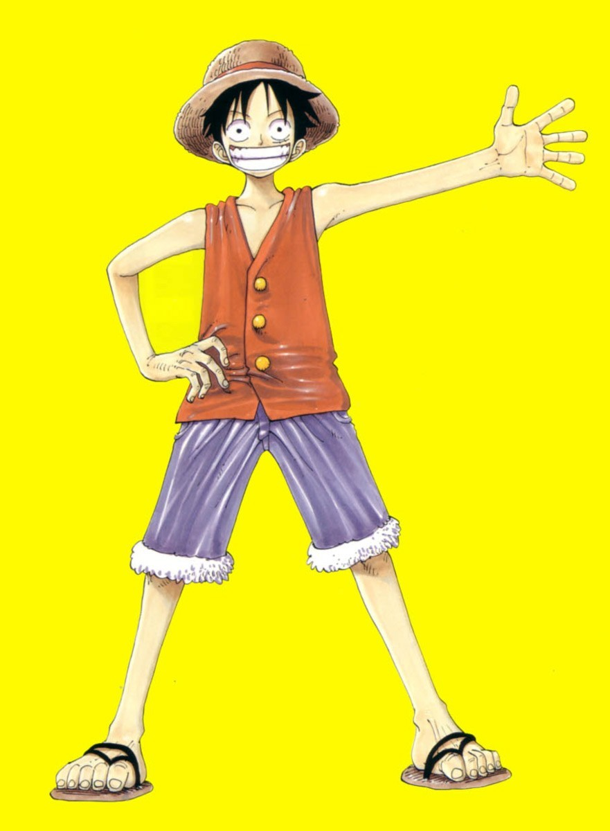 yellow One Piece (anime) HD Wallpaper