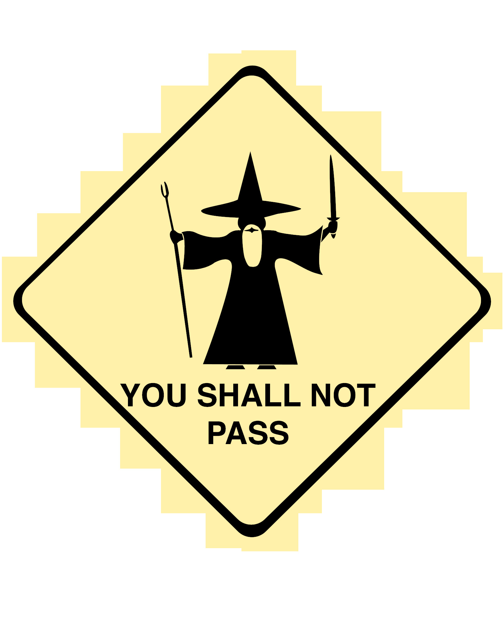 You shall not pass HD Wallpaper