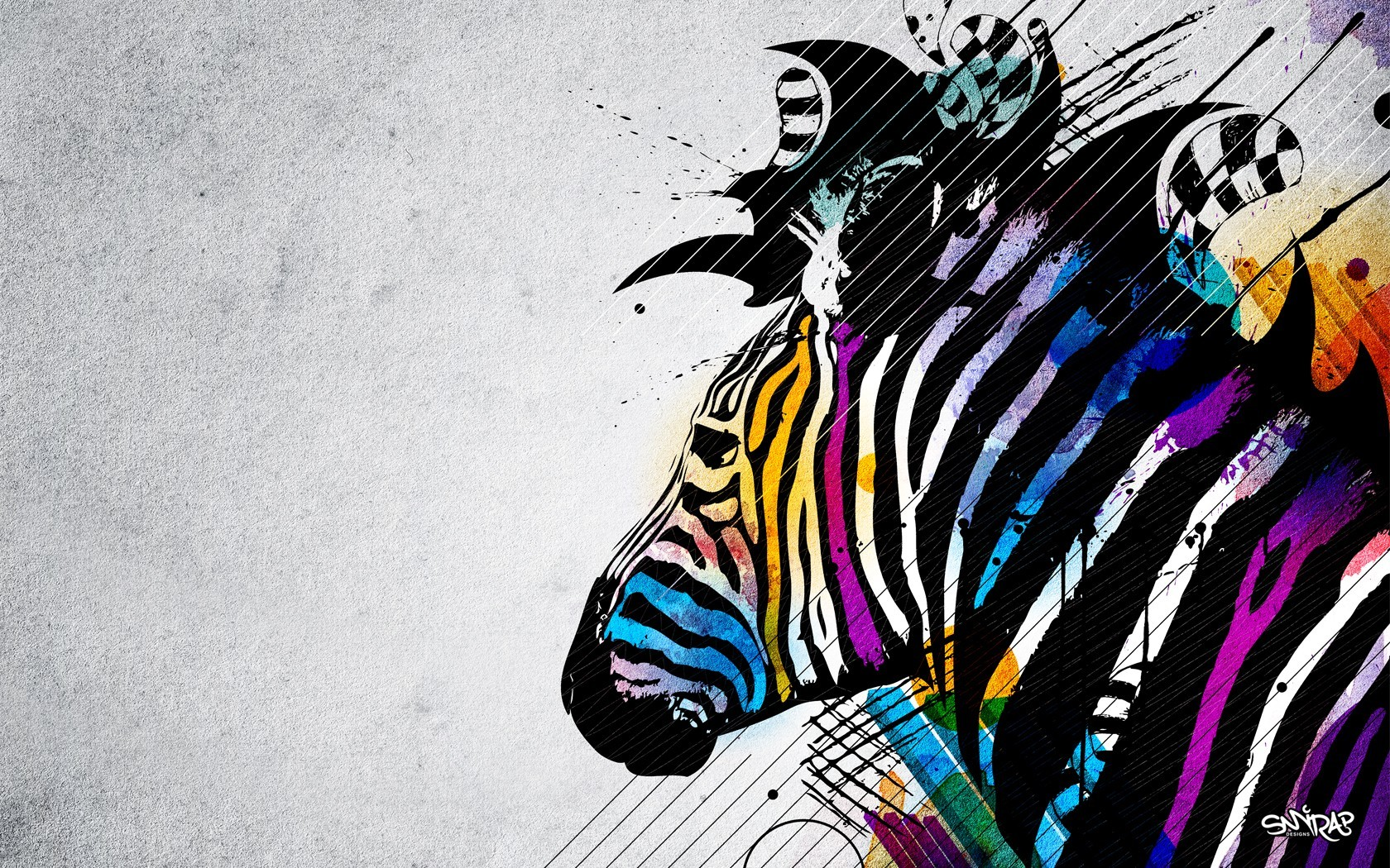 zebras stripes HD Wallpaper