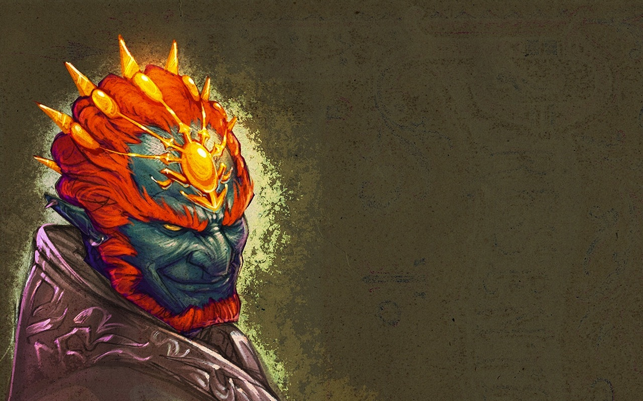 zelda Ganondorf artwork HD Wallpaper