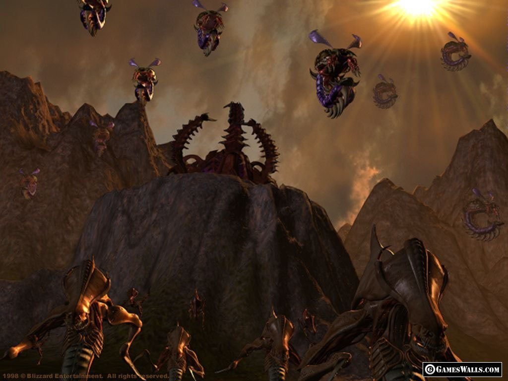 Zerg starcraft II game