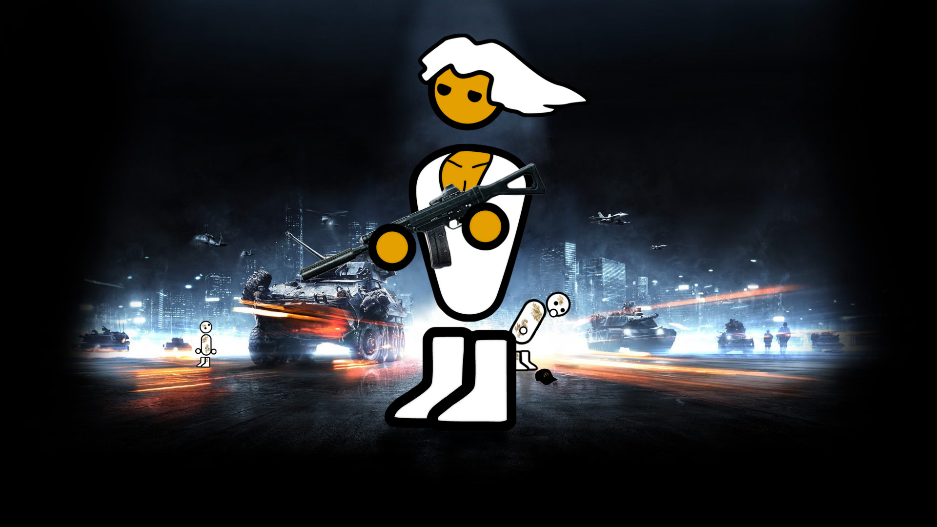 Zero Punctuation battlefield 3 HD Wallpaper