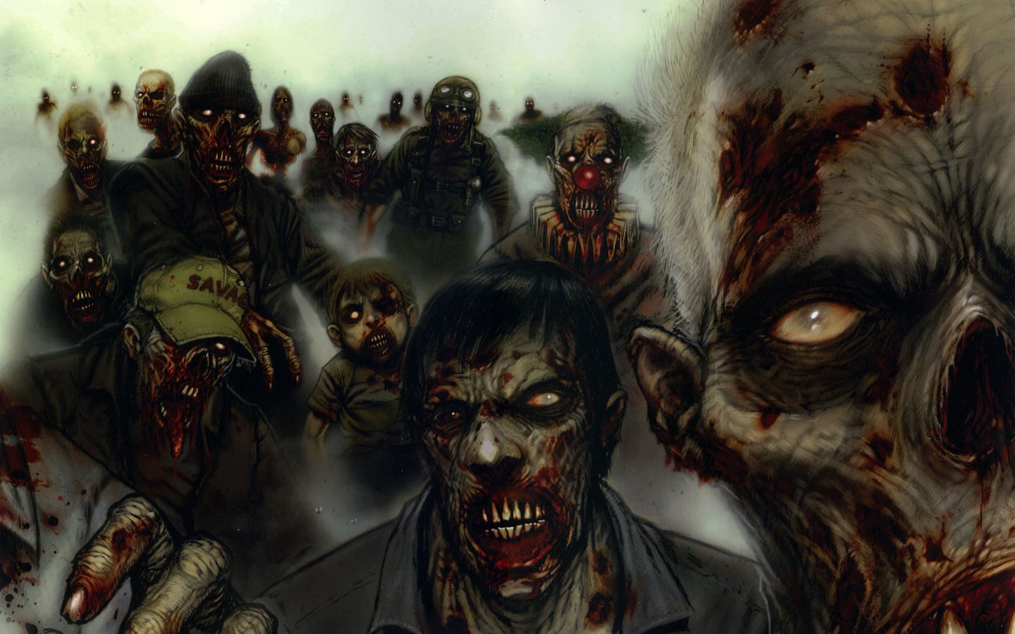 zombies HD Wallpaper