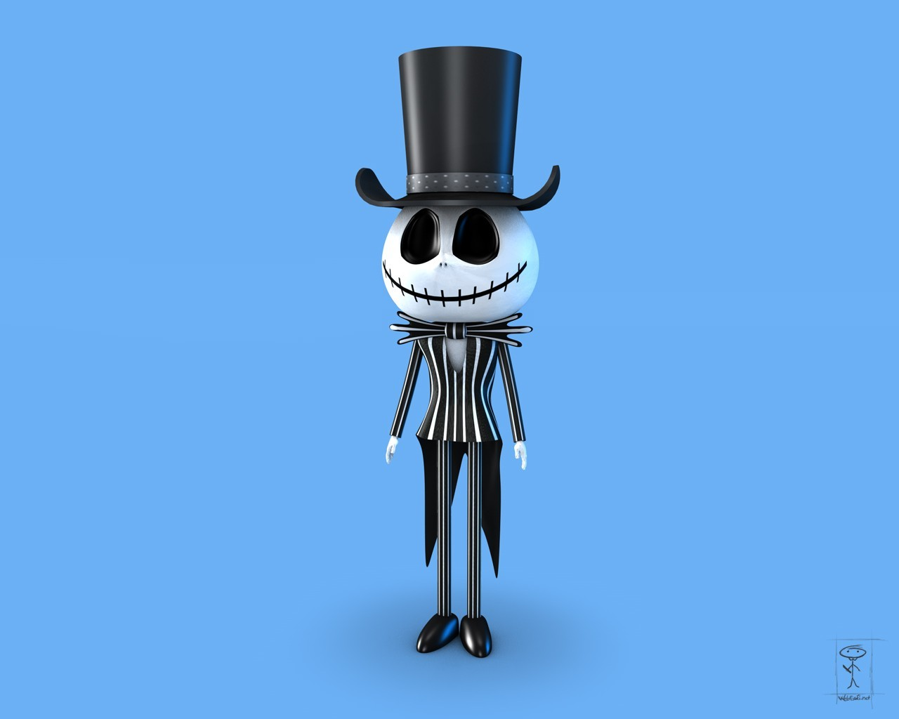zombies Jack Skellington