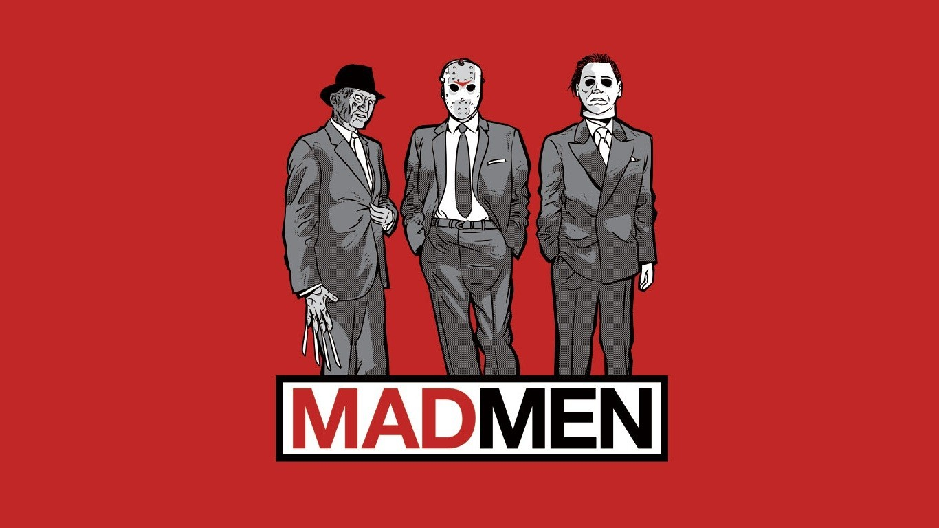 zombies Mad Men Friday HD Wallpaper