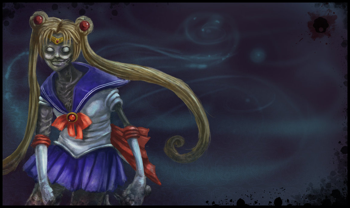 zombies sailor moon HD Wallpaper