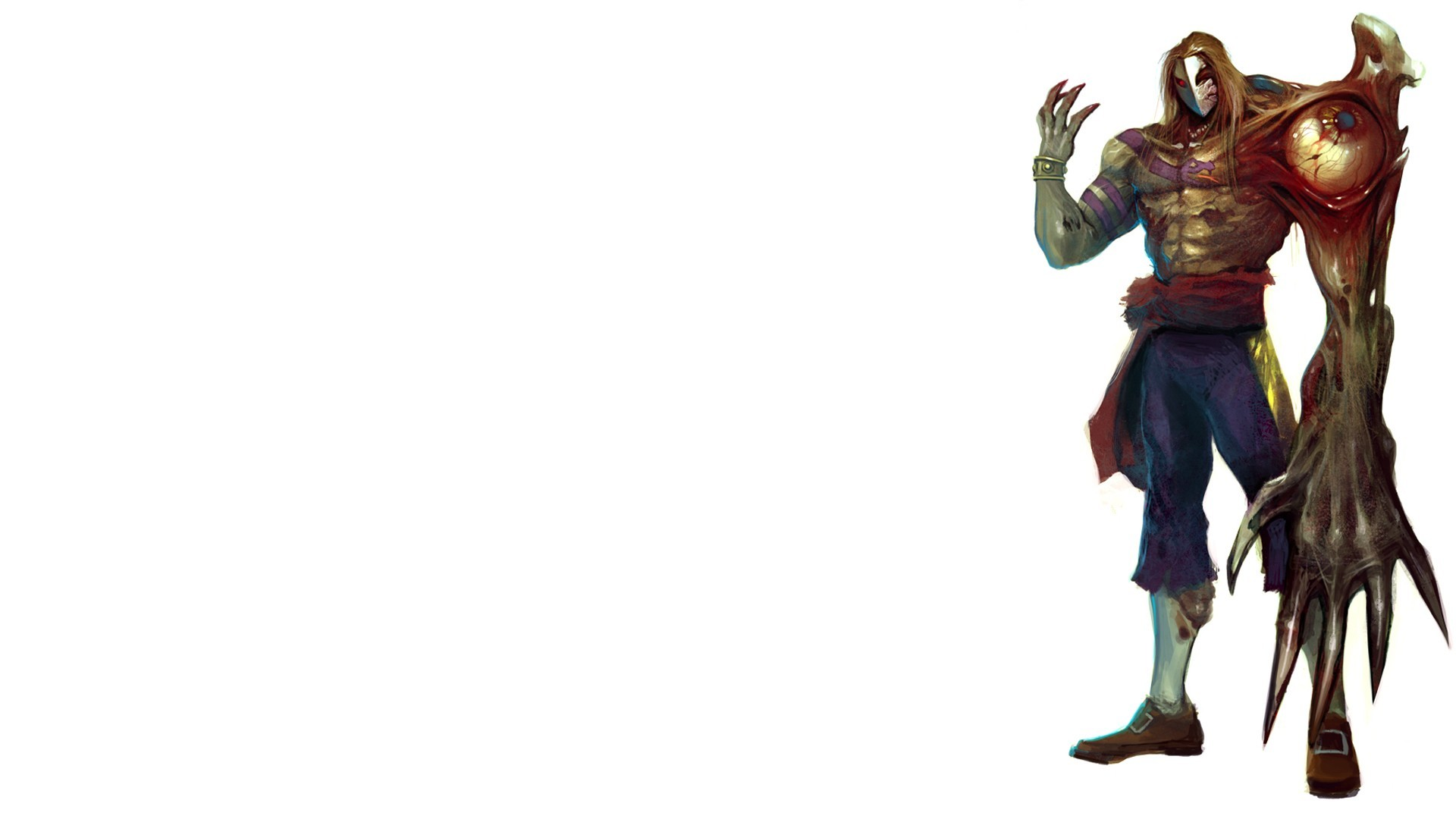 Zombies Street Fighter Vega