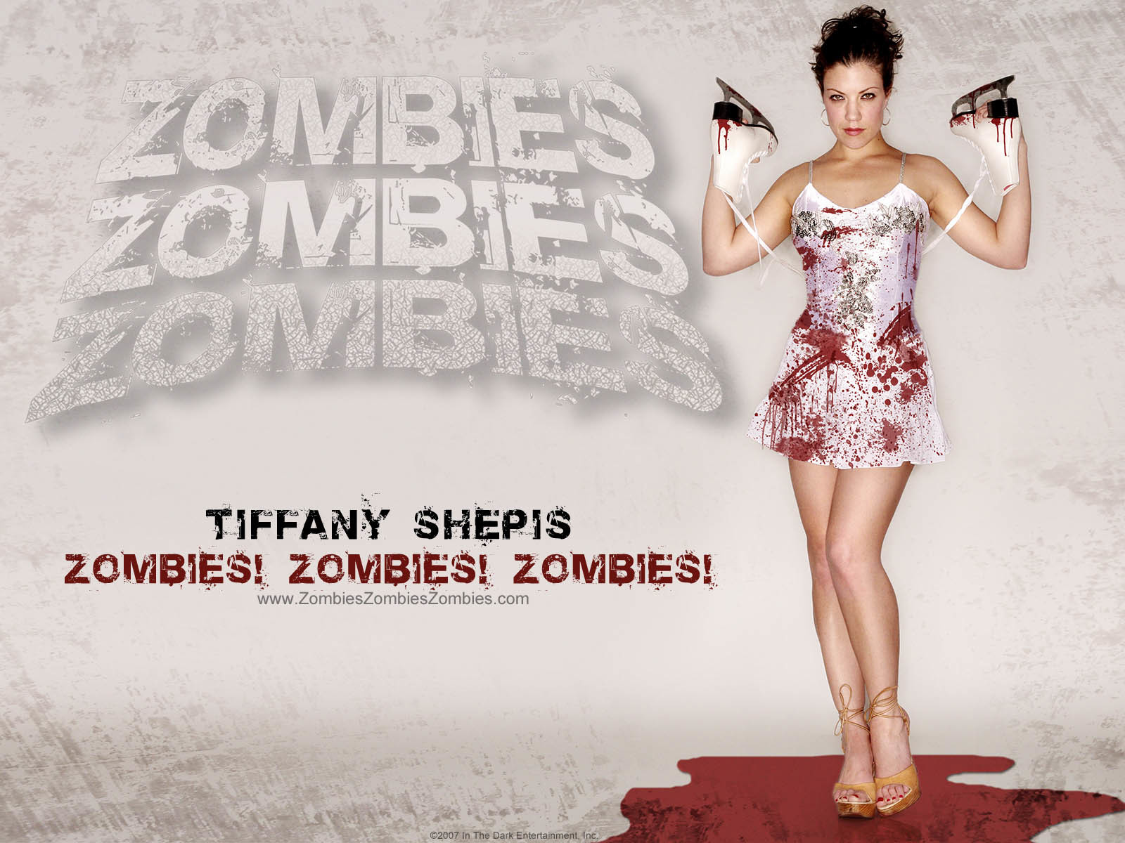 zombies tiffany shepis ice HD Wallpaper