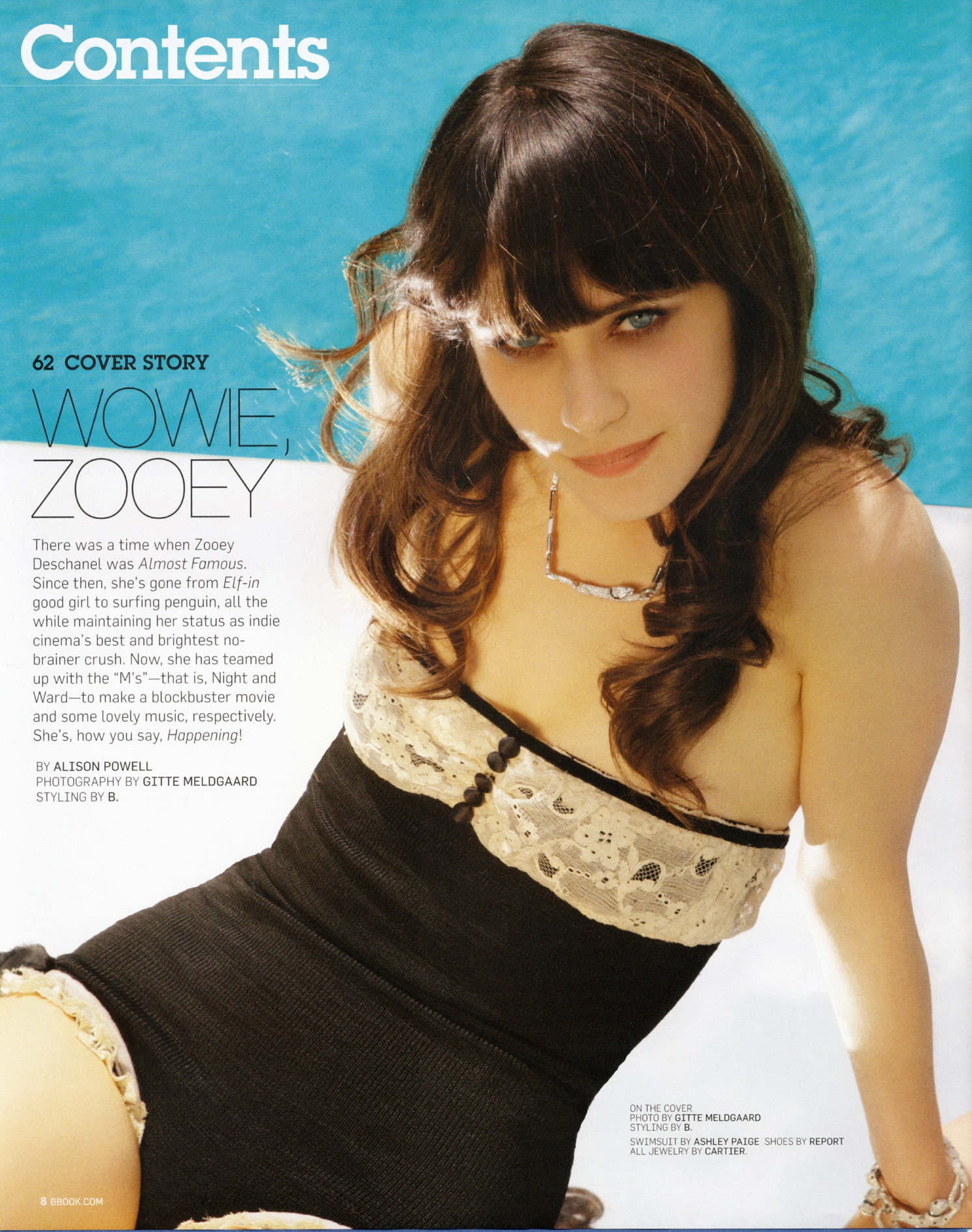 zooey Deschanel Celebrity HD Wallpaper