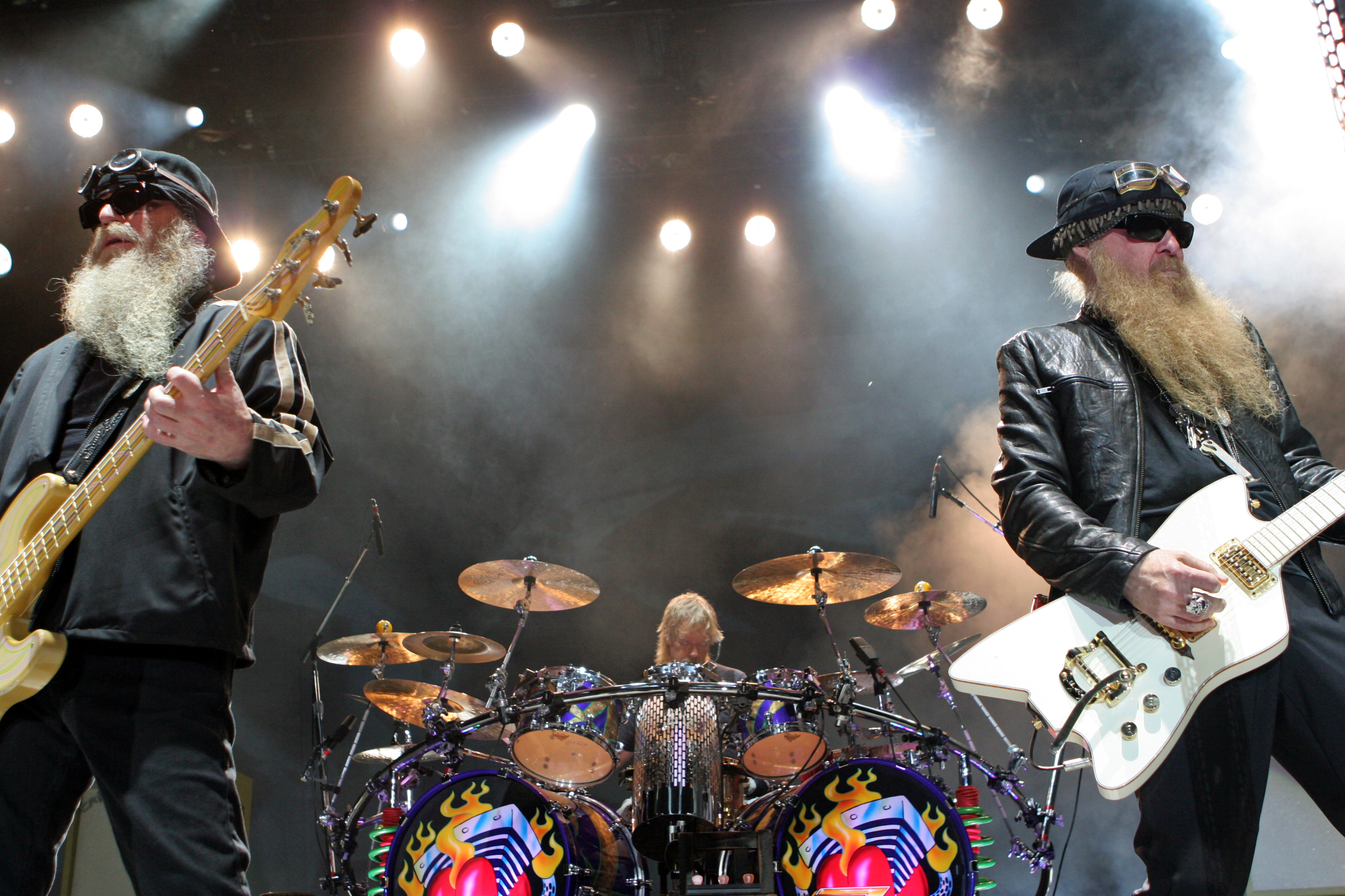 zz top live tube HD Wallpaper